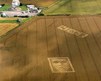 Chilbolton - 21 août 2001 - Le visage et le message