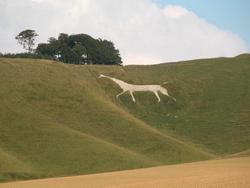 Caballo blanco de Cherhill - Fecha : 1780