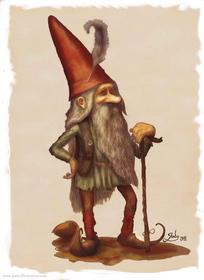 A gnome [godo-art.fr]